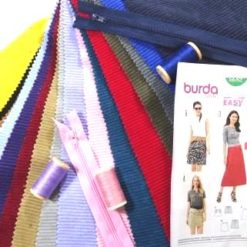 Corduroy Skirt Sewing Kit