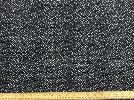 Polyester Fabric Concertina Black Snow