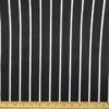 Cotton Fabric Butcher Stripe Black/White