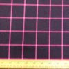 Suiting Fabric Pink/Navy Check
