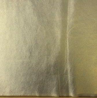Metallic Faux leather Gold