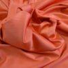 Stretch Sateen Fabric Tangerine