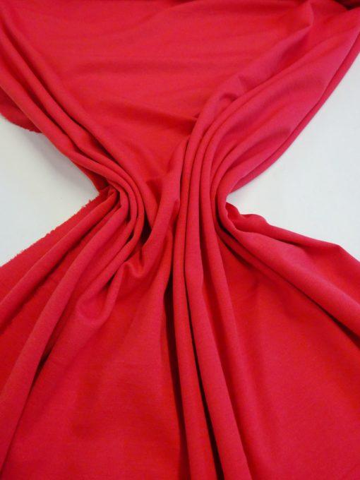 Jersey Fabric Ponte Roma Bright Red