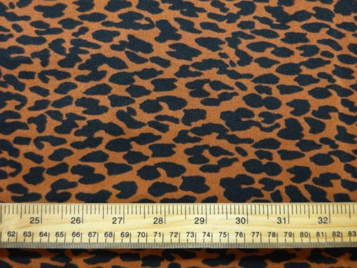 Stretch Bengaline Suiting Fabric Animal Crackers