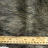 Faux Fur Fabric Dolomite Stag Honey Pepper