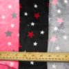 Fleece Velour Fabric Jupiter Stars