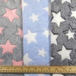 Huggable Fleece Fabric Star Bright