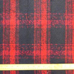 Polyester Wool Jacketing Fabric Plaid Royal Huntsman George Navy