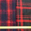 Polyester Wool Jacketing Fabric Plaid Royal Huntsman