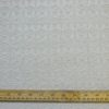 Polyester Wool Jacketing Fabric Fisherman Weave Cream Squares