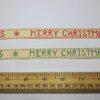 Christmas Ribbon 15mm Wide Merry Christmas