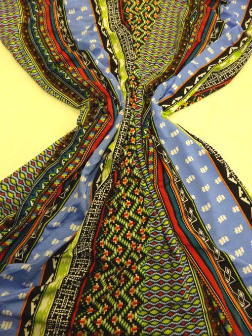 T-Shirting Jersey Fabric Jazzy Binary Lime Jade