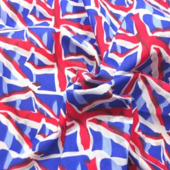 Union Jack Pattern Fabric