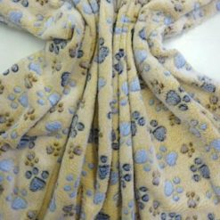 Huggable Fleece Fabric Butter Paws