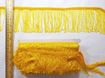 "Fringe 4"" yellow"