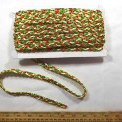 Christmas Plaited Braid Trimming