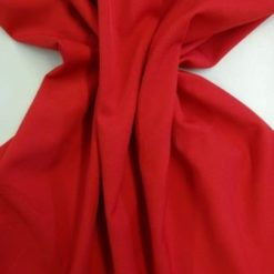Suiting Fabric Red Fire