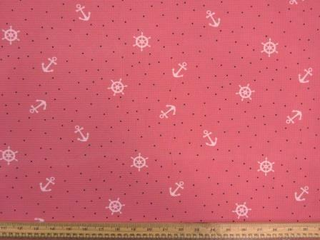 Jersey Fabric Westard Ho coral