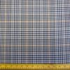 Lucy Gold Check Suiting Fabric