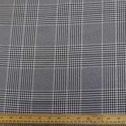 dogtooth suiting fabric