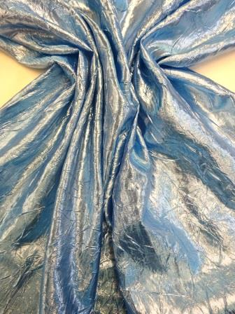 """3 MTR QUALITY ROYAL BLUE CHIFFON FABRIC...45/"""" WIDE £7.49 SPECIAL OFFER"""