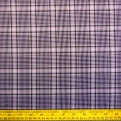 Plaid Mauve Celtic Suiting Fabric