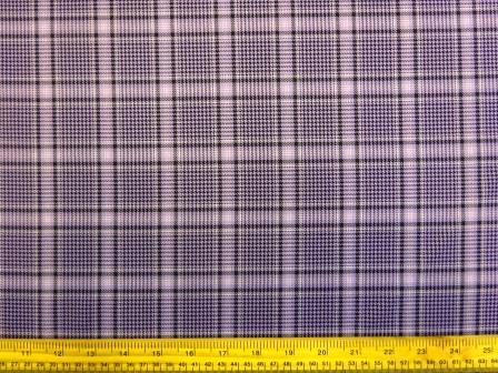Plaid Mauve Celtic Suiting Fabric