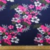 T-Shirting Fabric Floribunda Pink