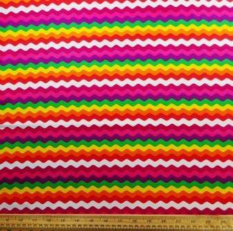 Rainbow Ric Rac Pink