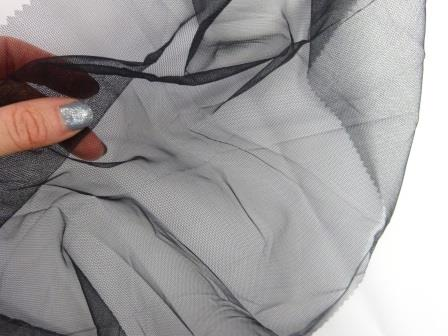Black Multi Purpose Bag Mesh