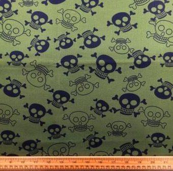 Funky Skulls Khaki