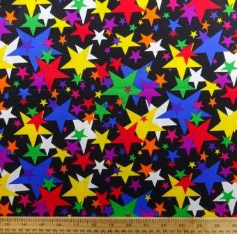 Twister Stars Black